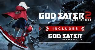 God Eater 2 Rage Burst Game highly compressed